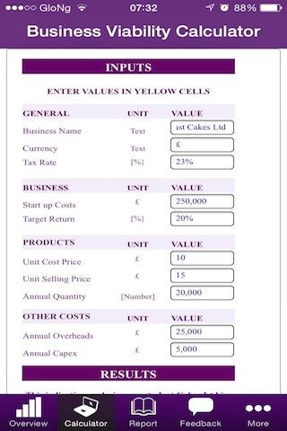 Business Viability Calculator