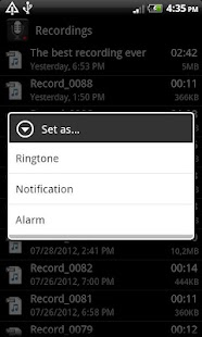 Smart Voice Recorder Screenshot 5