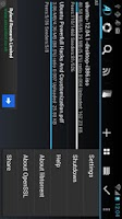 Screenshot of aDownloader - torrent download