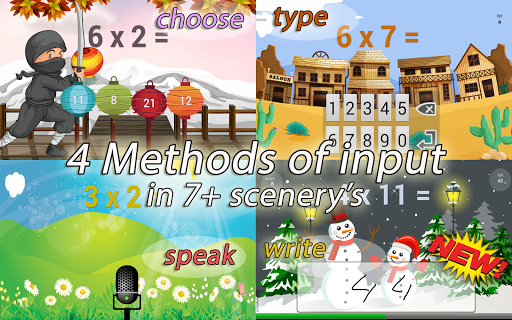 Times Tables Game (free) 3.98-free screenshots 9
