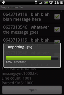SMS Migrator- screenshot thumbnail
