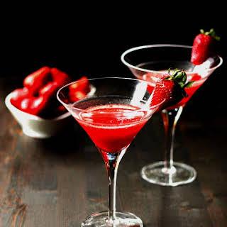 'Dirty Vegas' Strawberry Martini.