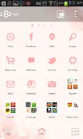 Screenshot of Cherry blossom go launcher