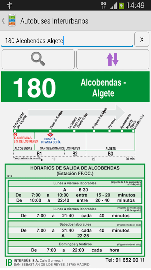 key-Madrid Metro|Bus|Cercanias - screenshot