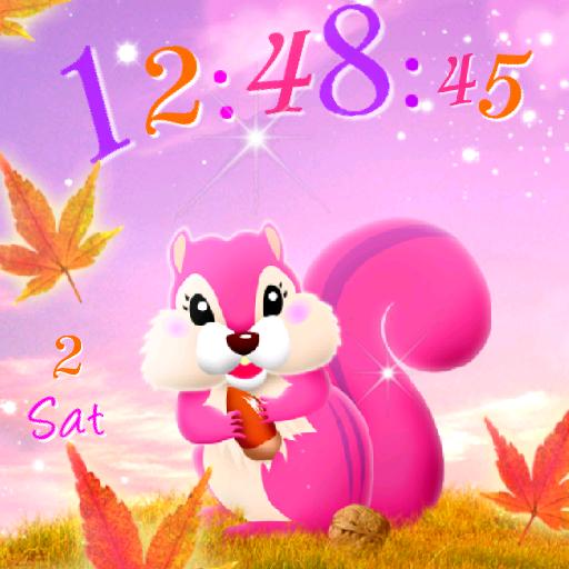 個人化必備App Squirrel Live Wallpaper LOGO-綠色工廠好玩App