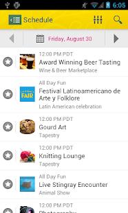 L.A. County Fair Mobile App - screenshot thumbnail