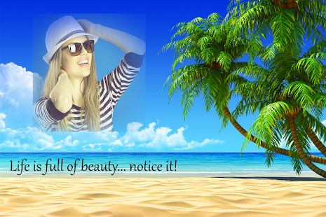 beach photo frames screenshot thumbnail