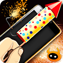 Simulator Fireworks New Year icon