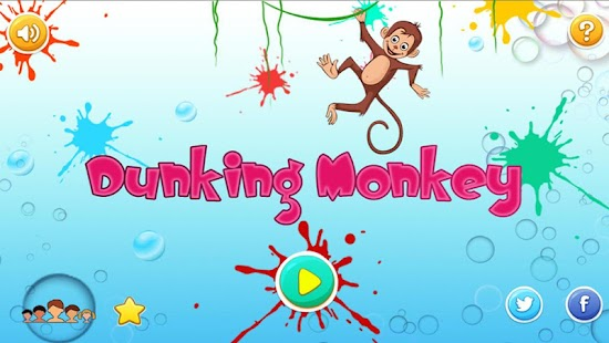 Dunking Monkey- screenshot thumbnail