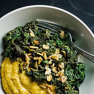 Garlicky Mustard Greens.