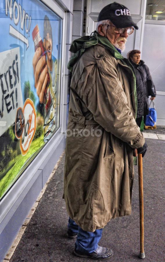 Old man by Igor Vasiljevic - People Portraits of Men ( bus, serbia, belgrade, d90, nikon )