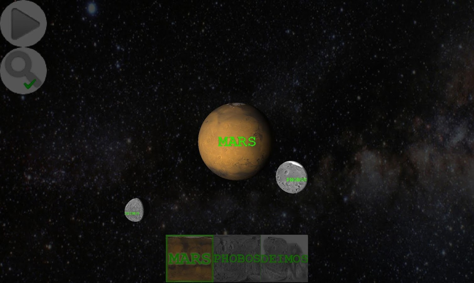 Planet Finder- screenshot