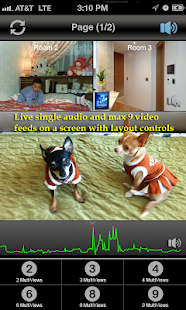uPanasonicCam: Audio & Video- screenshot thumbnail