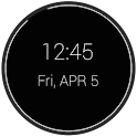 Battery Clock UCCW Skin icon