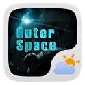 OUTERSPACE THEME GO WEATHER EX icon