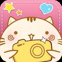 Cute Face&Words Box ThemeDECO+ mobile app icon