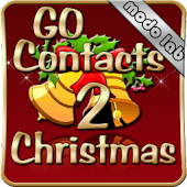 Christmas 2 GO Contacts theme