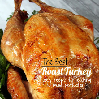 The Best Roast Turkey - perfectly cooked and moist.