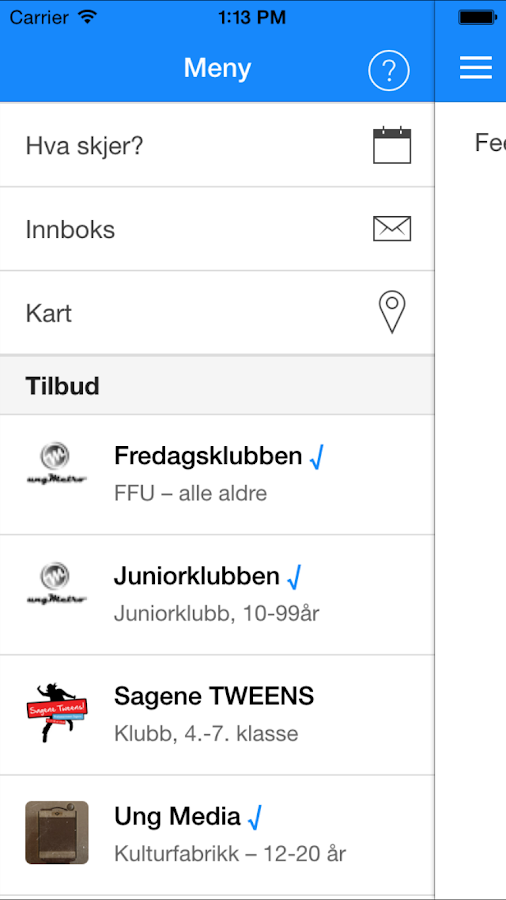 Ung i Sagene- screenshot