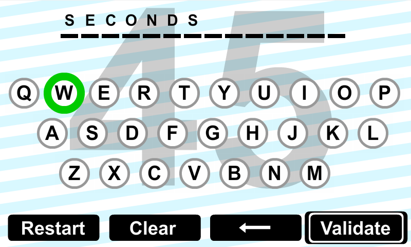 26 words vs 60 seconds- screenshot
