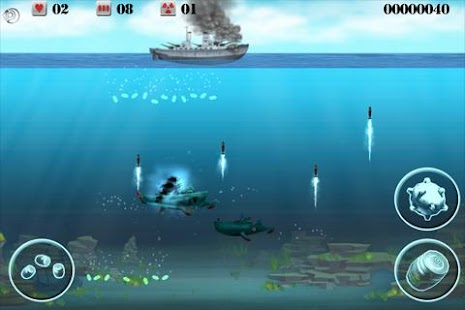 Submarine Crusher Free - screenshot thumbnail