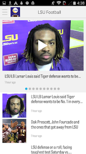 NOLA.com: LSU Football news- screenshot thumbnail