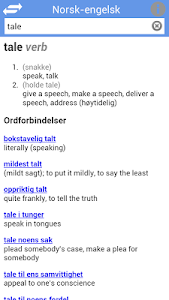 Ordnett - Engelsk blå ordbok v1.0.4