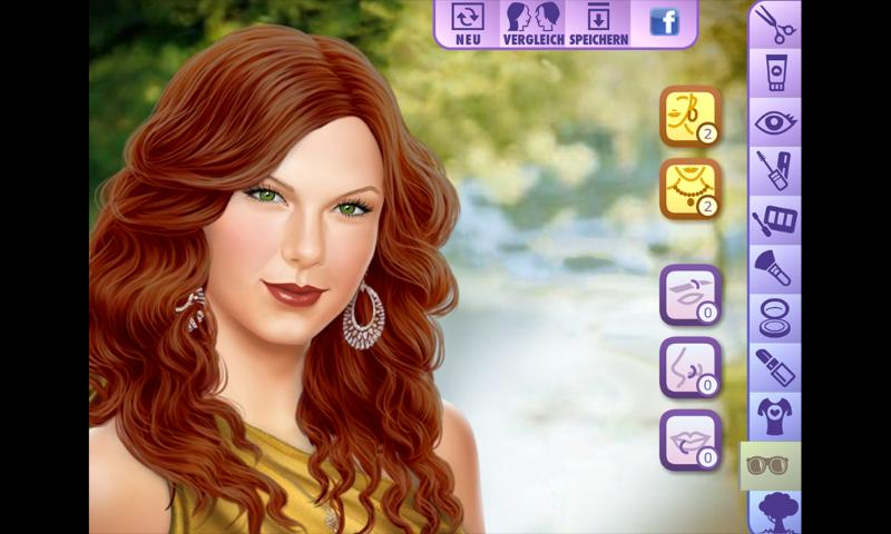 Taylor Swift Dress Up Game - screenshot