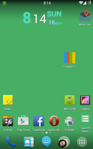 Simple Color Live Wallpaper