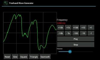 Screenshot of Freehand Wave Generator