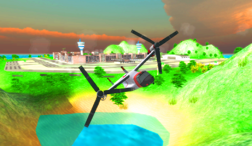Osprey Rescue: Flight Sim 3D