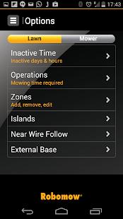 Robomow App - screenshot thumbnail