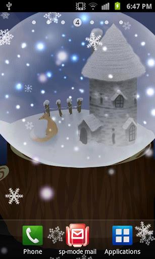 White Snow Live Wallpaper_free 1.9 Windows u7528 3