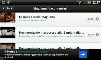Screenshot of La Banda della Magliana