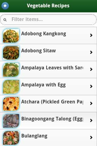 Pinoy food recipes on google play reviews stats pinoy food recipes android app screenshot forumfinder Images