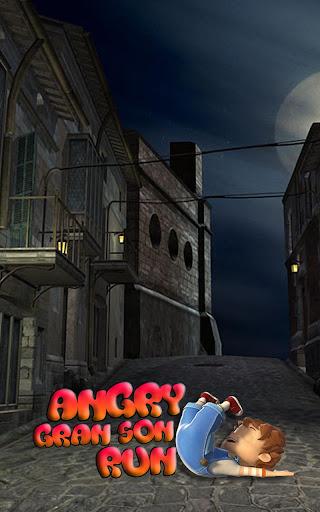 Angry Gran Son Run -3D Running