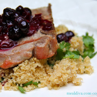 Blueberry Pork Chops Recipe