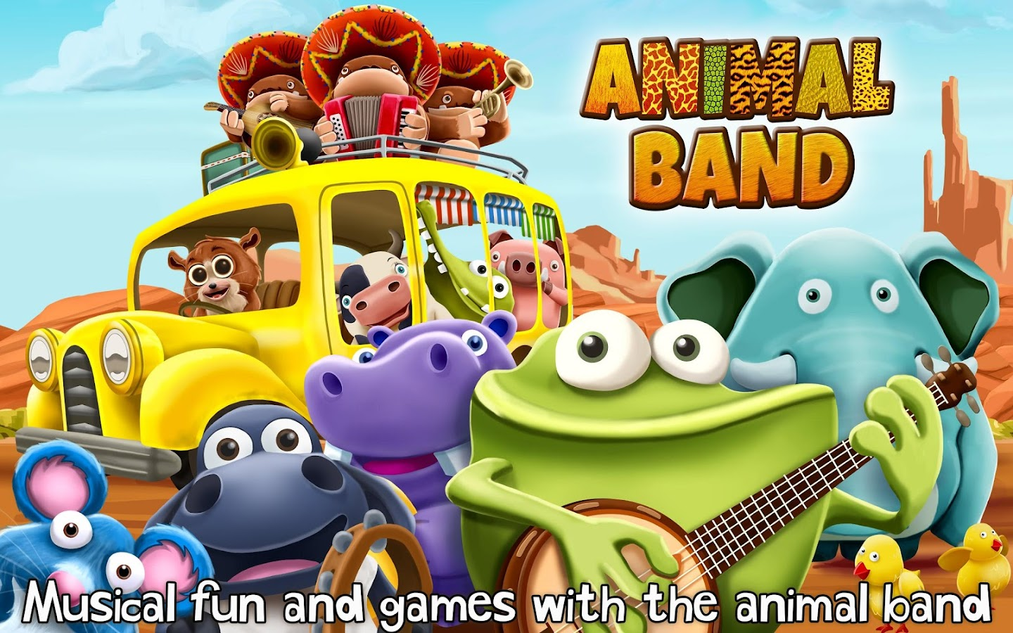 Animal Band ~ 3D Music Toy - screenshot