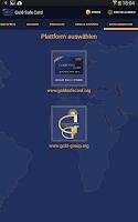 Screenshot of Gold Safe Card