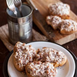 Sausage and Stracchino Crostoni Recipe