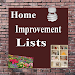 Home Improvement Lists Icon