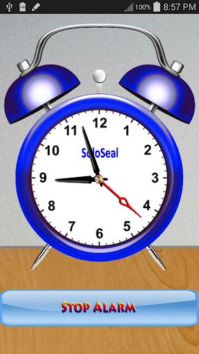 アナログ目覚まし時計