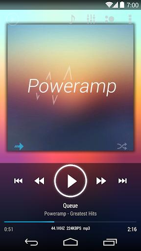Skin for Poweramp KK/JB/ICS  screenshots 1