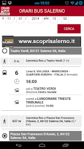 Orari Bus Salerno screenshot 4