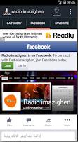 Screenshot of Radio Imazighen