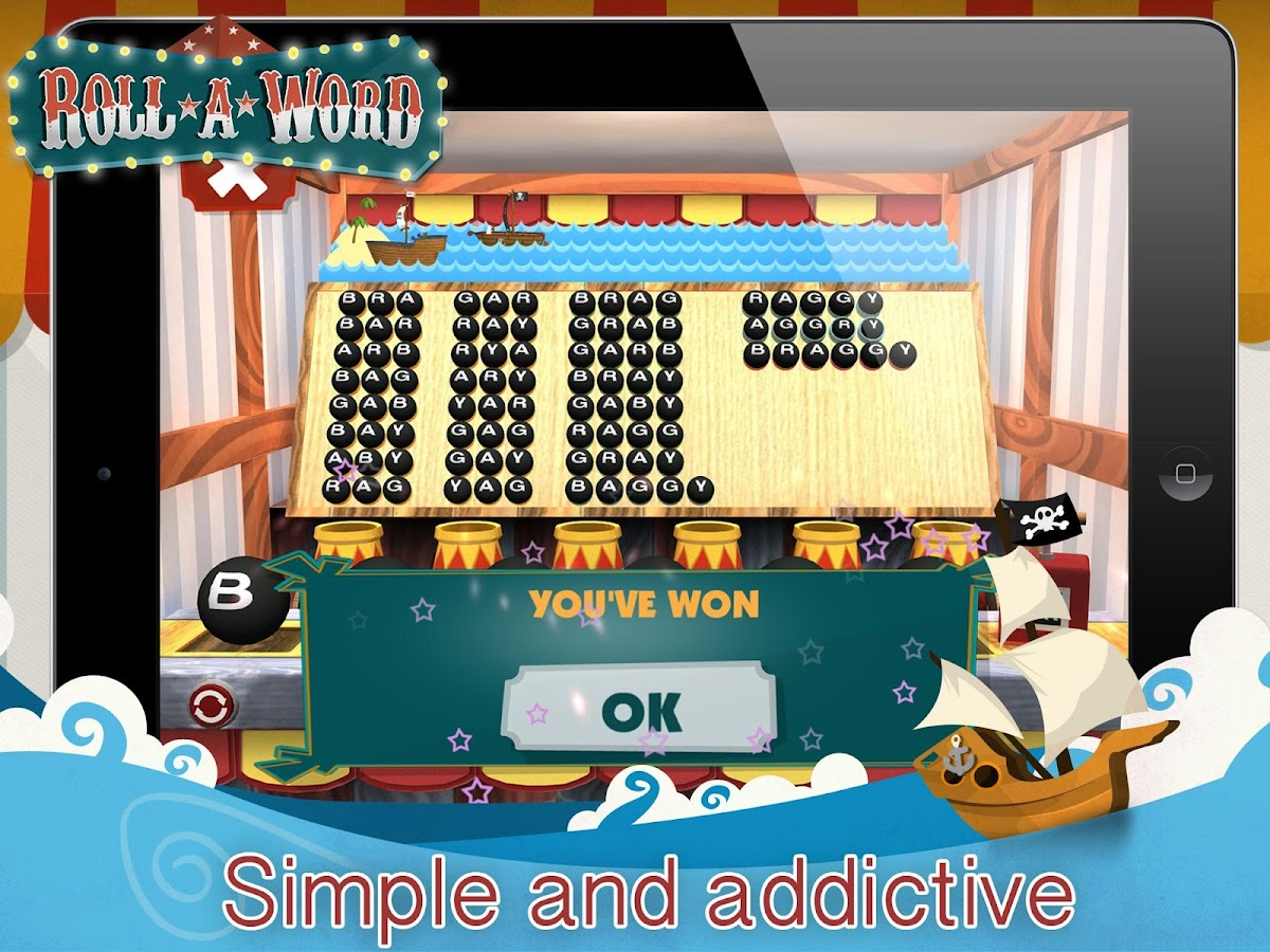Roll-A-Word- screenshot