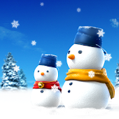 SNOWMAN LiveWallpaper Trial