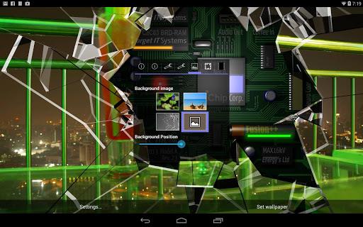 Cracked Screen Gyro 3D Parallax Wallpaper HD 1.0.5 screenshots 5