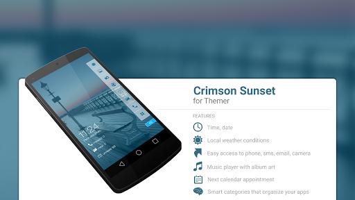 Crimson Sunset Theme