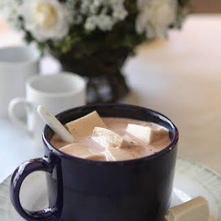 Hot Chocolate with Maple Marshmallows.